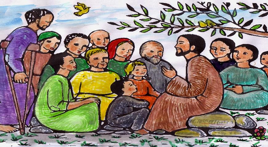 2014-03-20 jesus proclamando la palabra