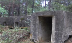 Puesto de mando falangista en Loma Verde (Paredes de Buitrago- Frente de Guadarrama)
