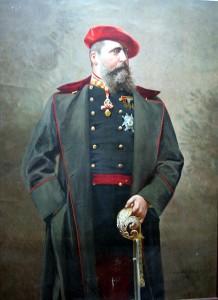 Carlos VII (retrato de Carlos Vázquez)