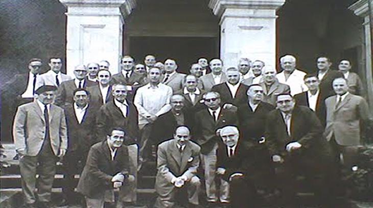 32ª Reunión de Radio Requeté de Campaña. Elorrio, 20-IX-1970