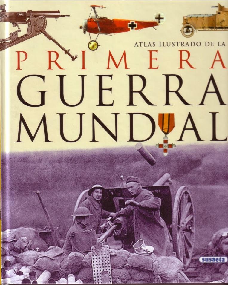 portada atlas ilustrado primera guerra mundial