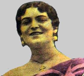 La tonadillera Mary Focela
