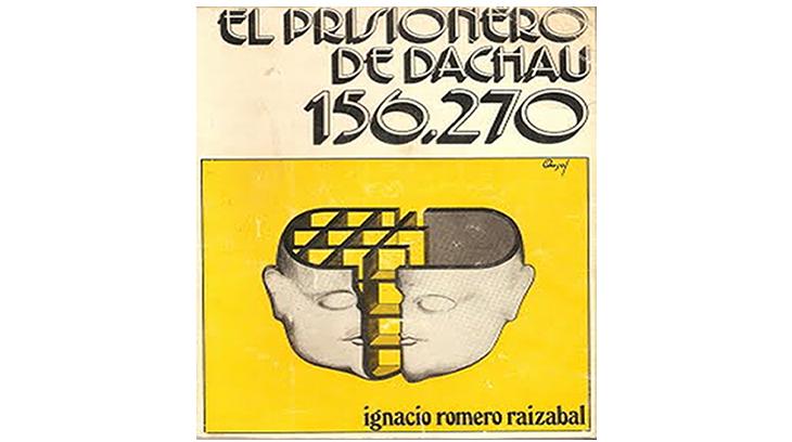 Portada del libro que narra las estancia de Javier de Borbón en los campos de concentración nazis.