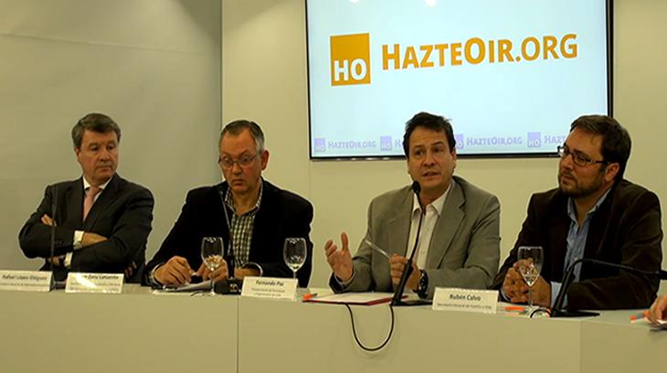 Rafael López-Diéguez (Alternativa Española – AES), Javier Zazu Lafuente (Comunión Tradicionalista Carlista – CTC), Fernando Paz (VOX),  Rubén Calvo (Partido Familia y Vida – PFyV)