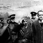 Prada y Matallana rindieron el Ejército del Centro al Coronel Eduardo Losas (a la derecha de la imagen), el 28 de marzo de 1939