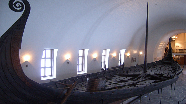 Barco vikingo (museo del Barco Vikingo de Oslo)