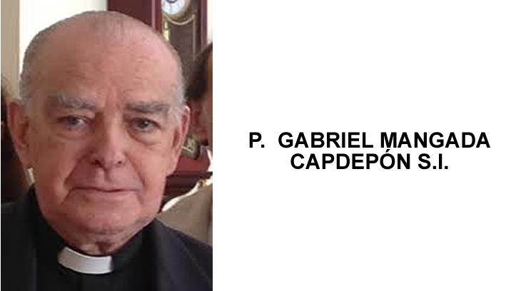 P. GABRIEL MANGADA CAPDEPÓN S.I.