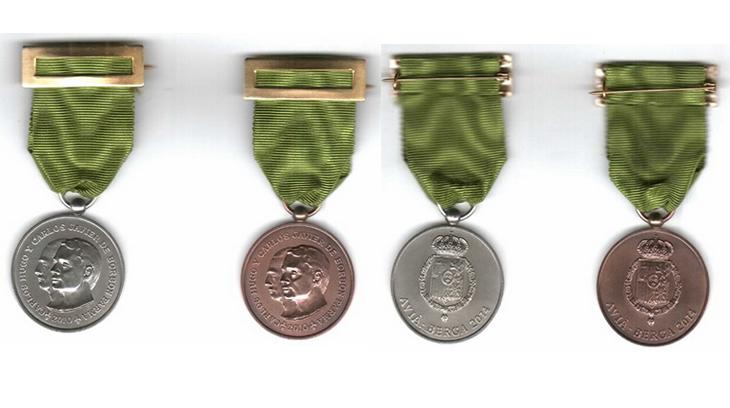 Medalla conmemorativa del II Simposio de Historia del Carlismo en Avià y Berga