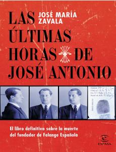 """Portada del libro """"Las últimas horas de José Antonio"""""""