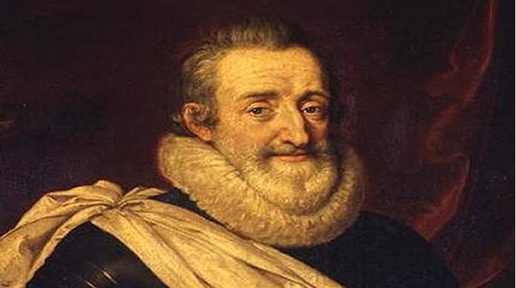 Enrique IV (por Frans Pourbus el Joven)
