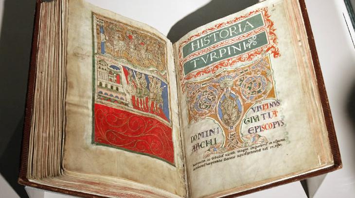 Imagen del Códice Calixtino