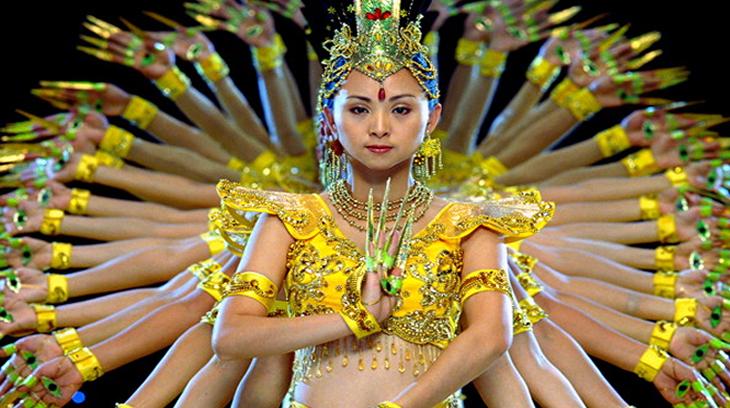 Una representación del Samsara.