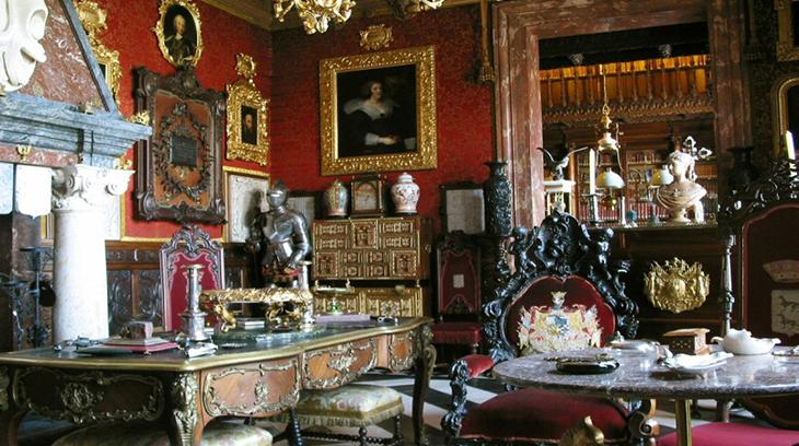 Una sala del Museo Cerralbo (Madrid)