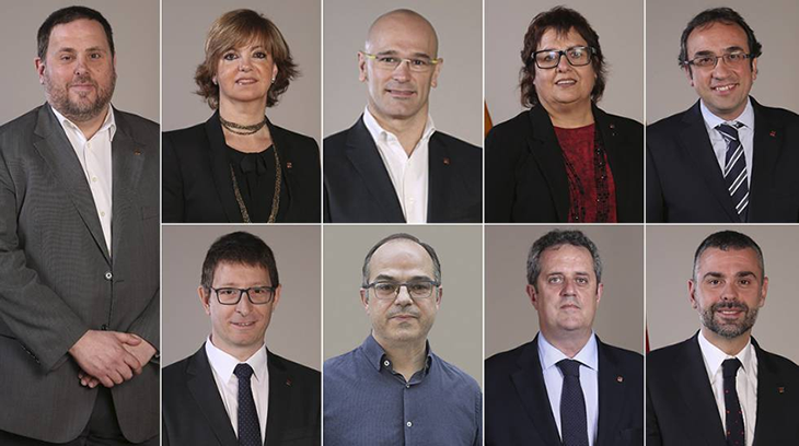 2017-12-22 ex consejeros catalanes