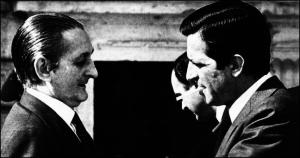 Torcuato Fernández Miranda con Adolfo Suárez