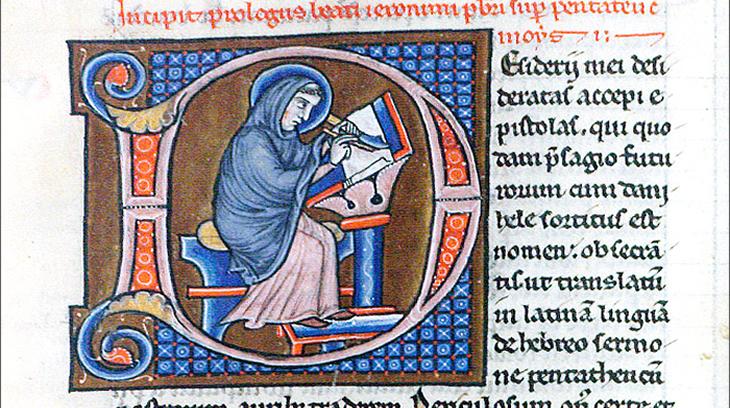 Biblia latina, Manuscrito [ca.1220-1230]. Inv. 15289 (Biblioteca Fundación Lázaro Galdiano)