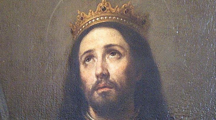 Detalle de San Fernando. Murillo, 1.671(Catedral de Sevilla)