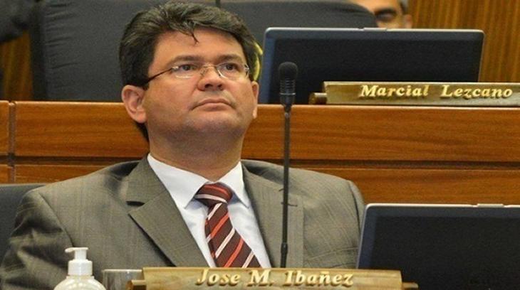 El diputado paraguayo José María Ibáñez
