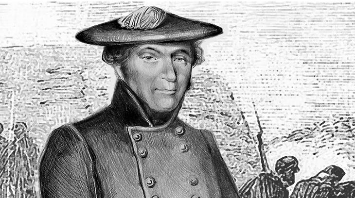 Miguel Gómez Damas, general carlista. Protagonizó la expedición carlista que recorrió toda la Península Ibérica desde junio a diciembre de 1836