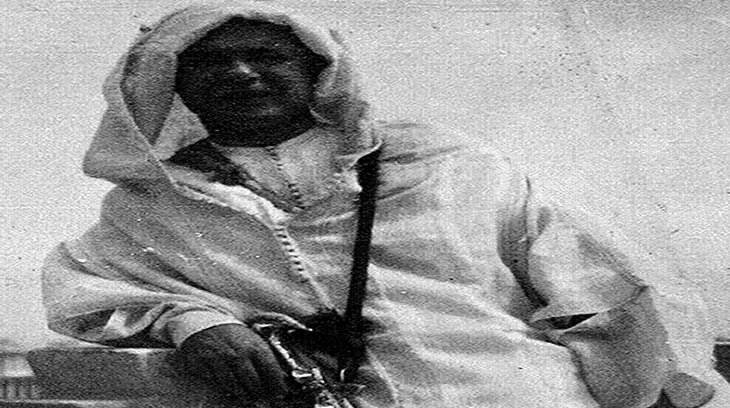 Blas Infante a la usanza marroqui