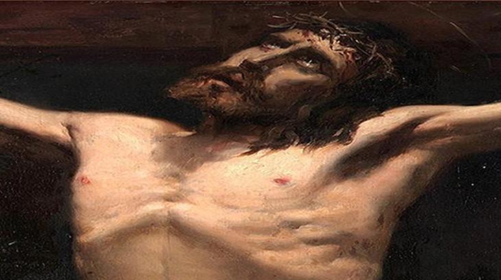 «Estudio de Cristo» de Joaquín Sorolla (1883)