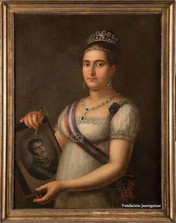 la Reina Doña María Francisca de Braganza y Borbón (1800-1834)