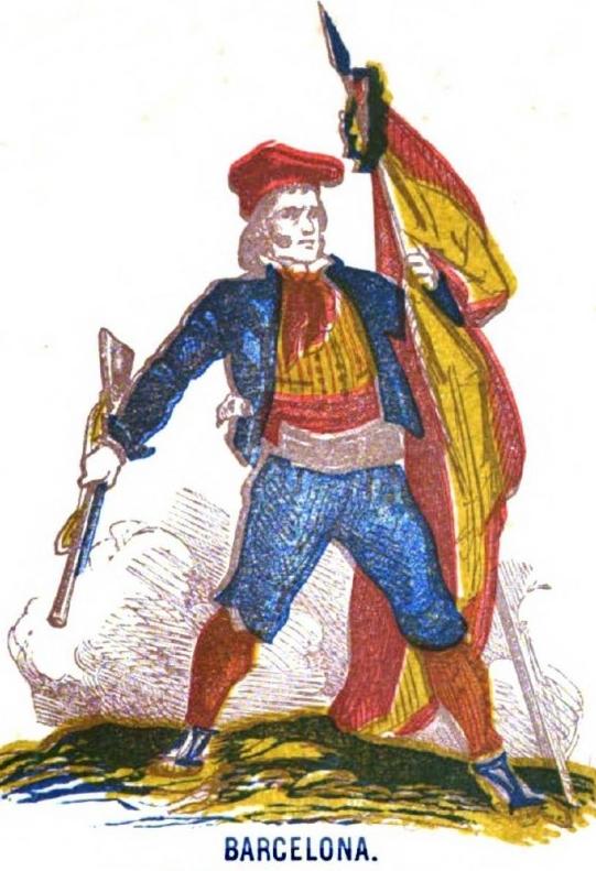 La mayoría de los catalanes lucharon por la independencia española frente al opresor frances