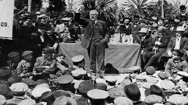 Pablo Iglesias en un acto público.