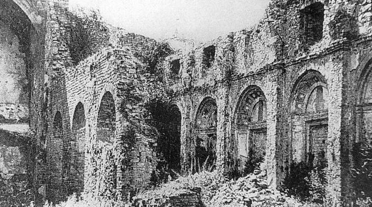 Muestra del fanatismo laico en Santa María de Ripoll, año 1835