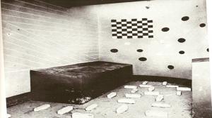 Celdas psicotécnicas. Iglesia de Vallmajor. Barcelona.