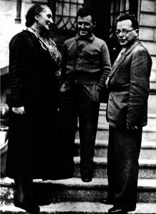 Palmiro Togliatti con la Pasionaria