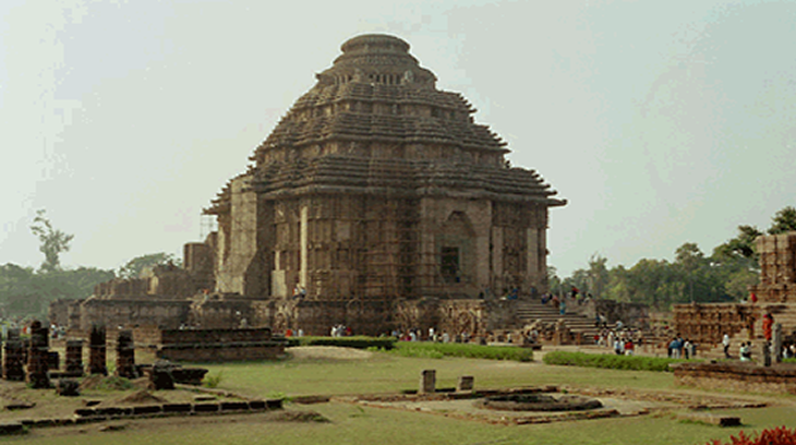 Templo hinduista de Suria en Konark (Orissa).