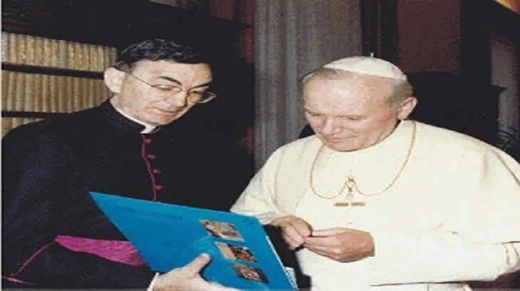 Juan Pablo II y Gabaráin